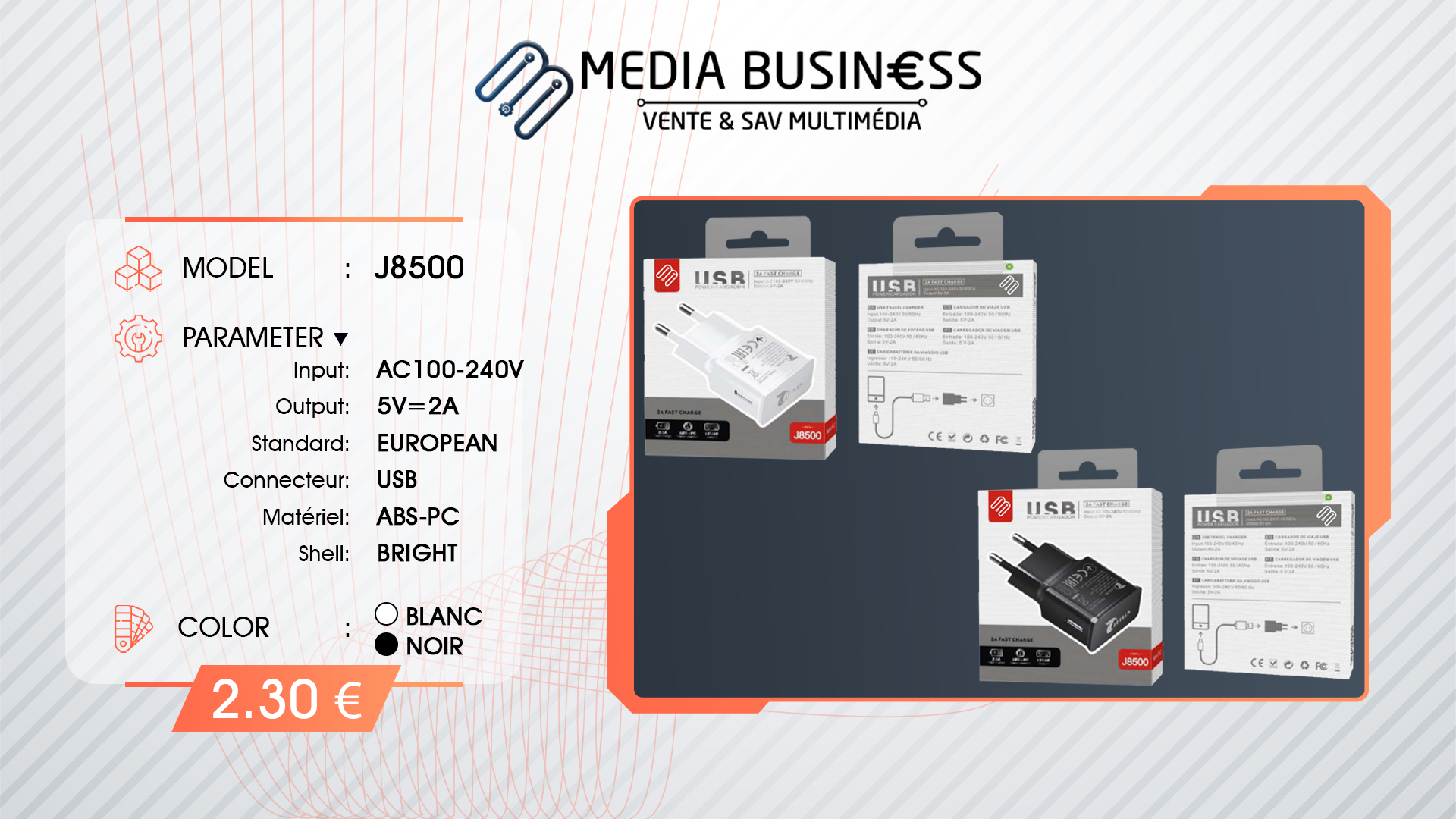 J8500 MEDIA BUSINESS SCHILTIGHEIM